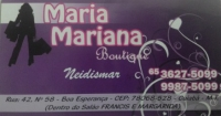 MARIA MARIANA BOUTIQUE