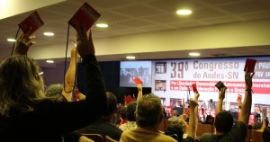 Desafios para 2020: docentes organizam as lutas da categoria no 39° Congresso do ANDES-SN